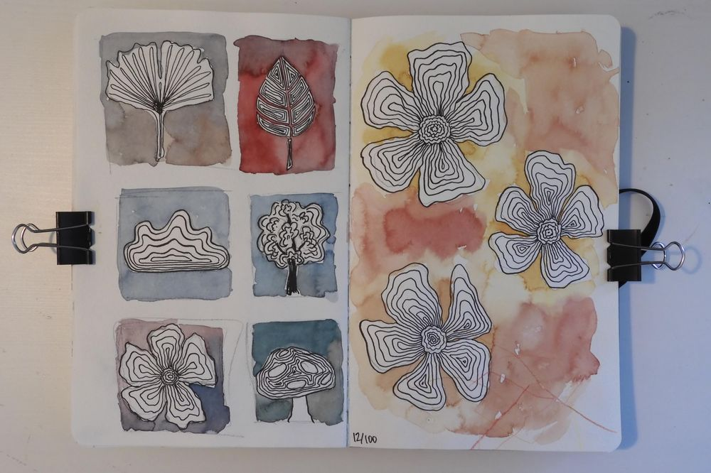 100 Days in my Sketchbook - image 5 - student project