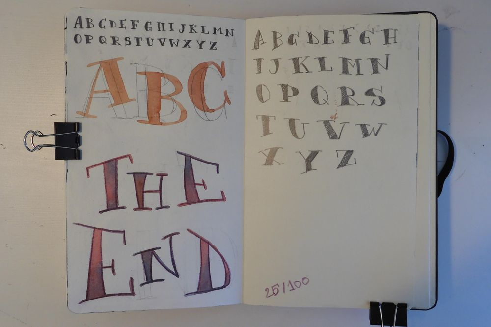 100 Days in my Sketchbook - image 8 - student project