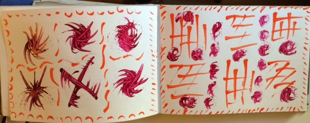 Sketchbook Magic- I dont have the right art supplies. - image 1 - student project