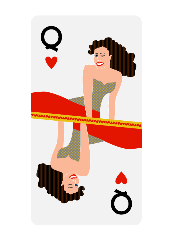 Queen of Hearts - image 1 - student project