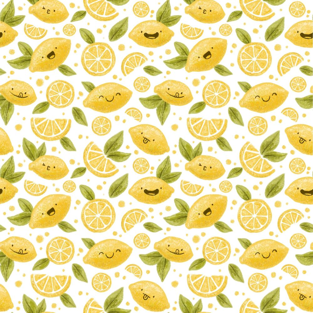 Lemon Pattern - image 1 - student project