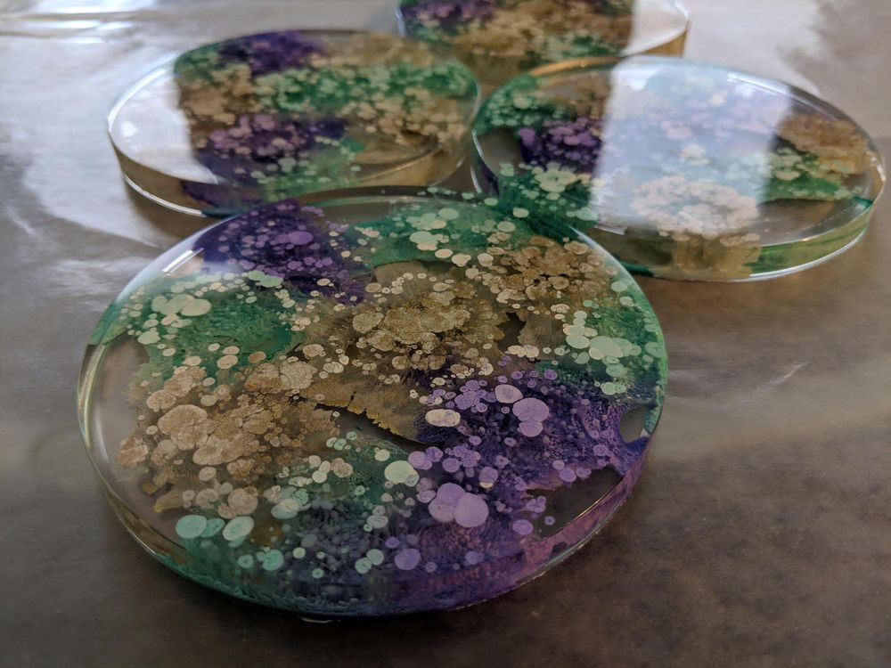 Teal, Purple, and Gold - image 1 - student project