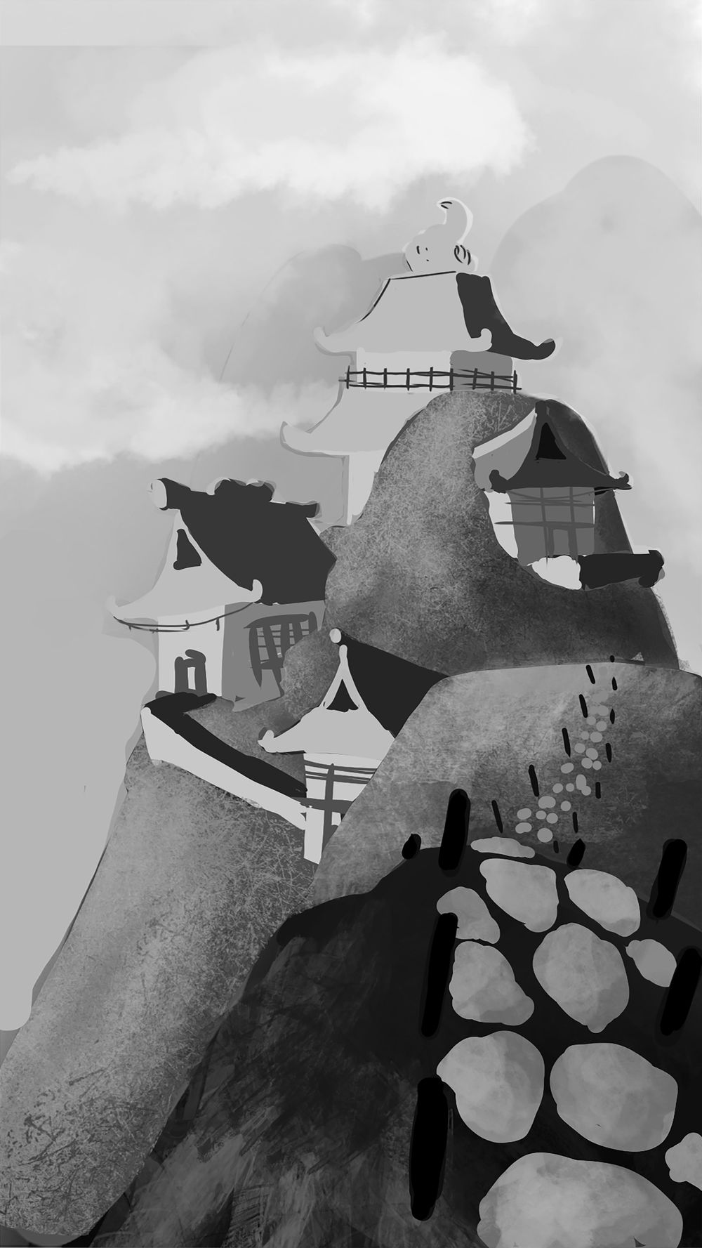 My very first concept art! - image 2 - student project
