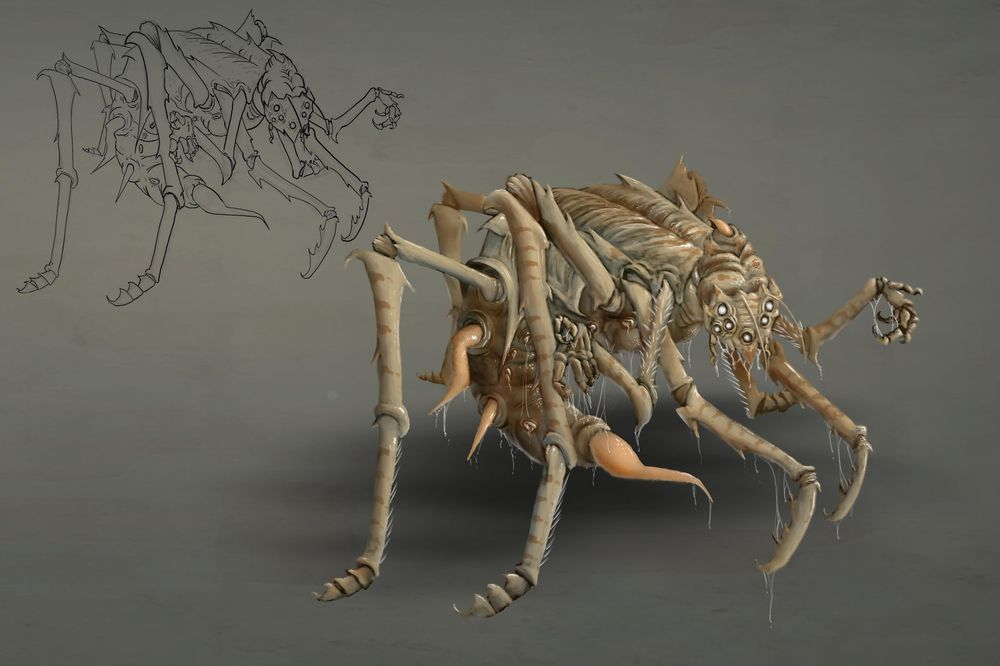 My four creature projects - image 2 - student project