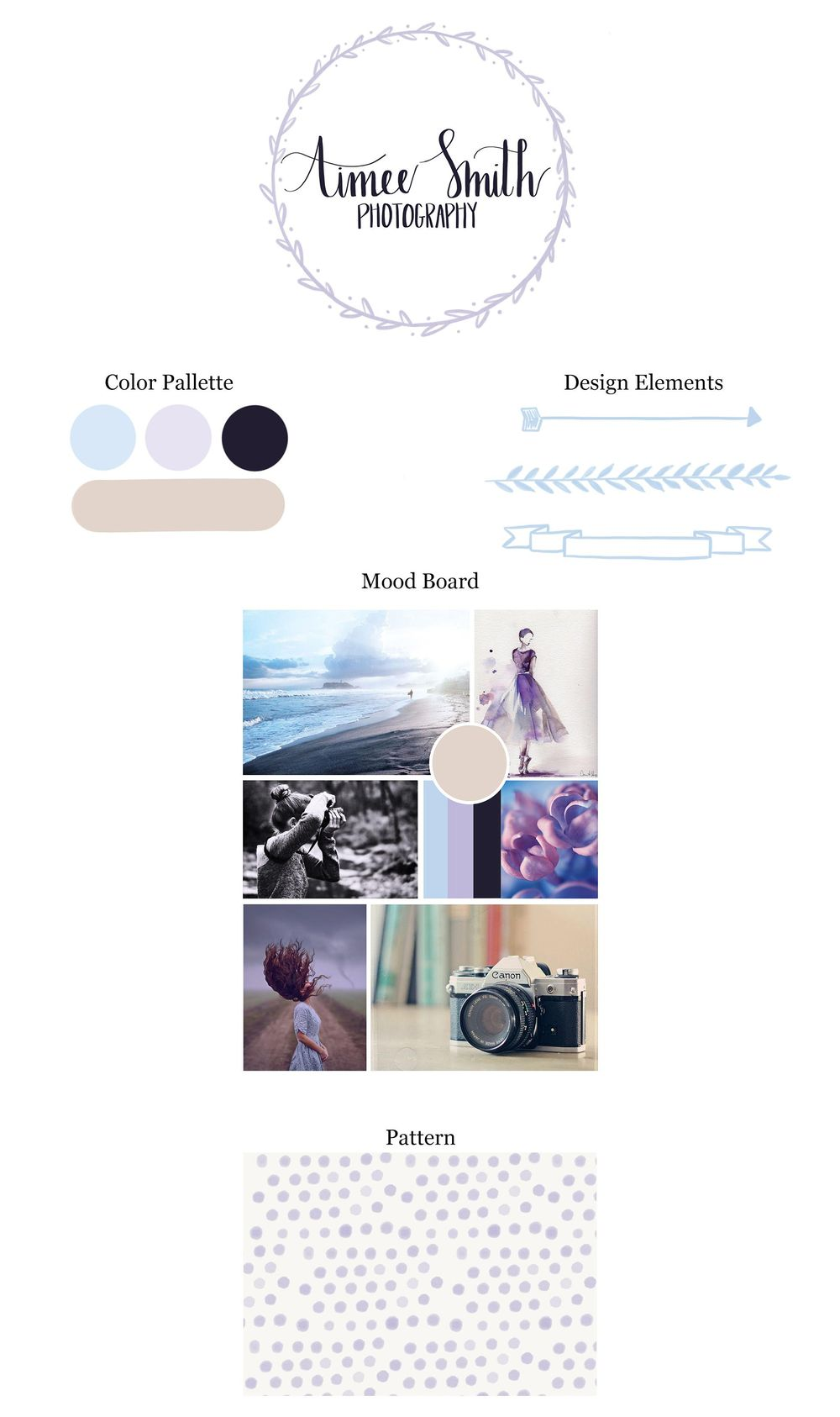 Branding for Aimee Smith Photography - image 1 - student project