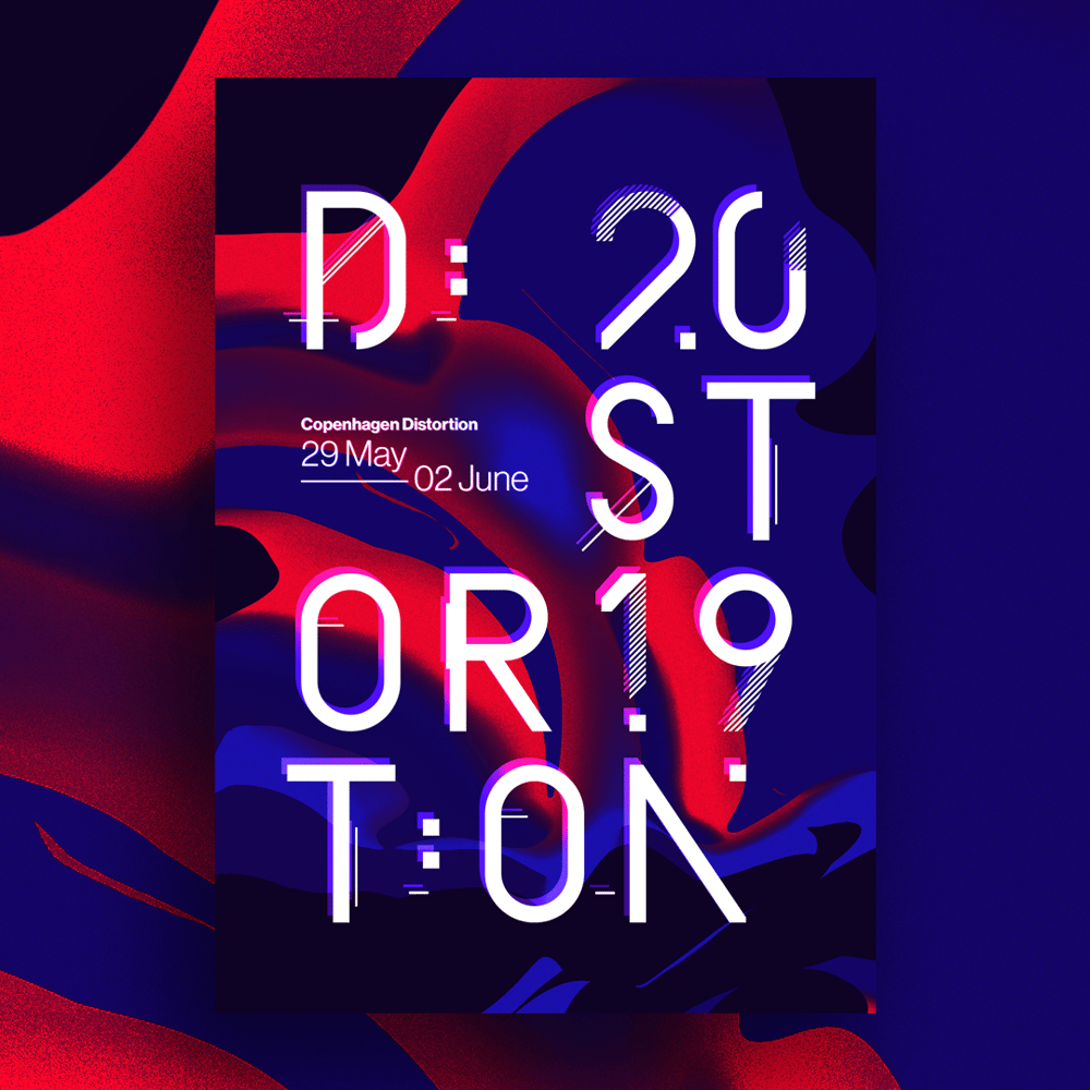 Distortion Cph '19 - image 2 - student project