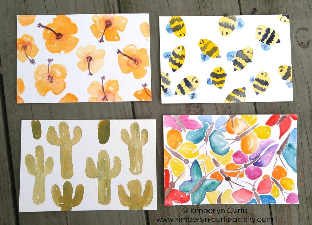 Springtime Postcards - image 1 - student project