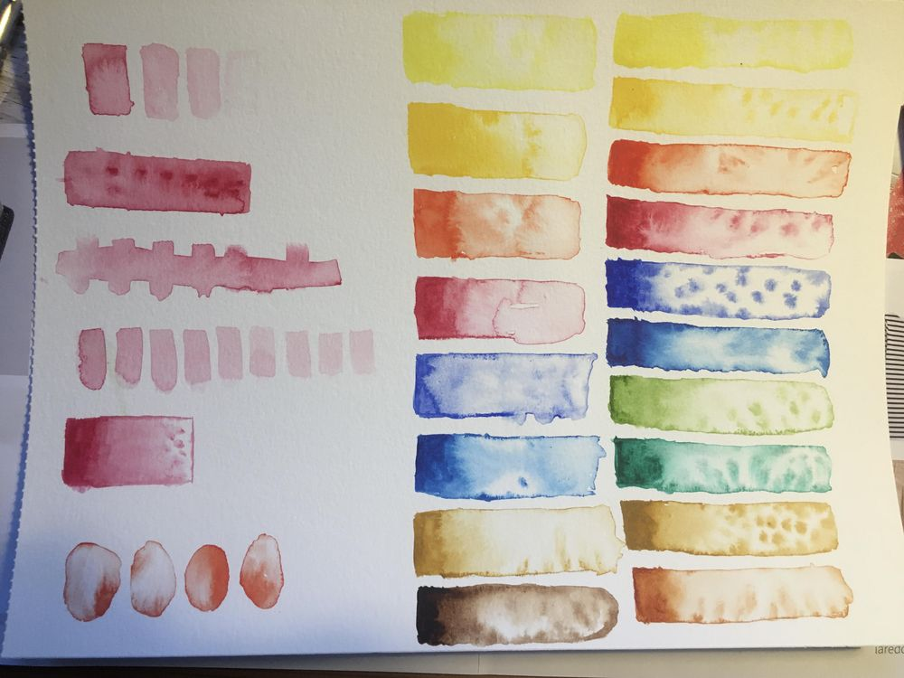 Watercolour rookie - image 1 - student project