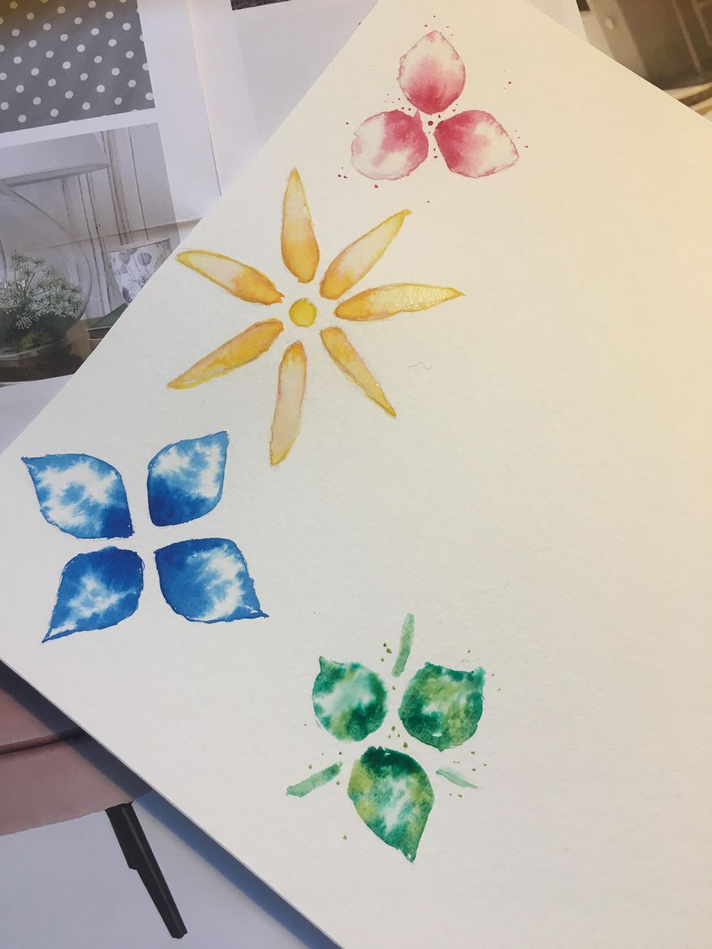 Watercolour rookie - image 2 - student project