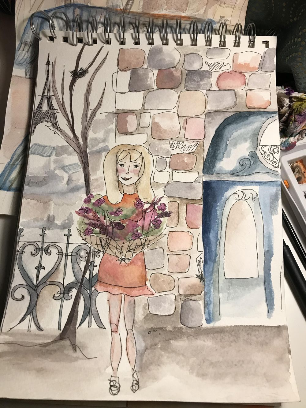 self discovery illustrations - image 1 - student project