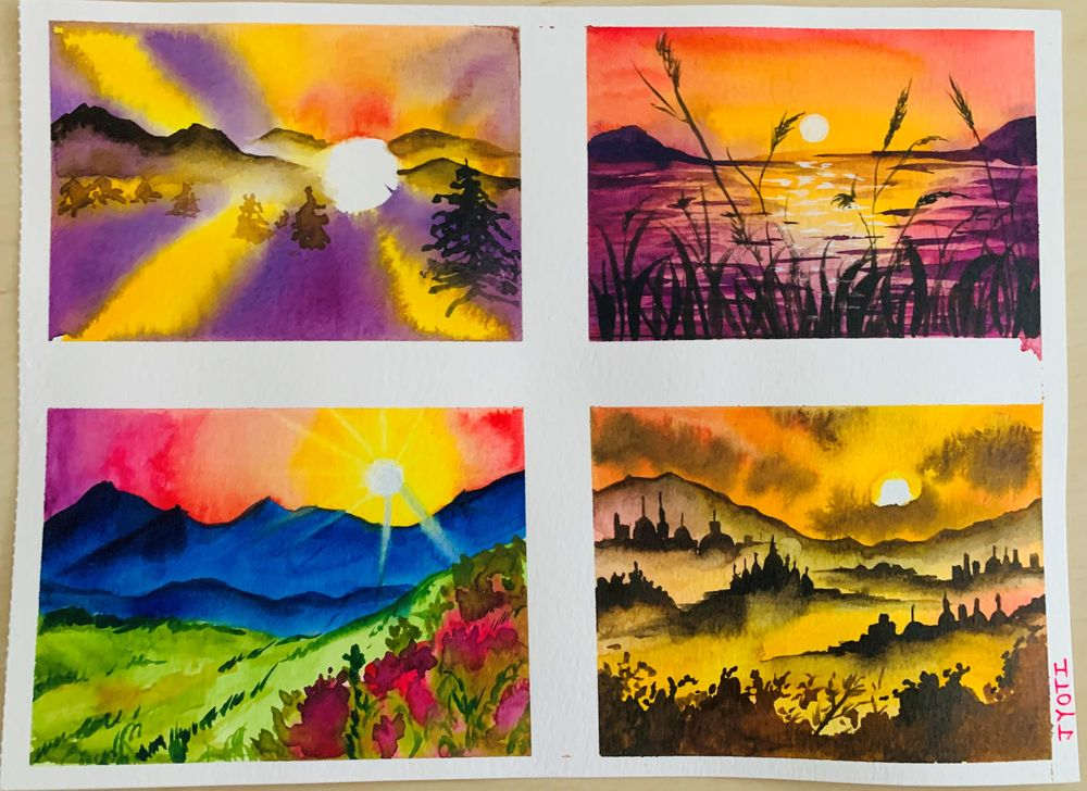 Magical Sunsets - image 1 - student project