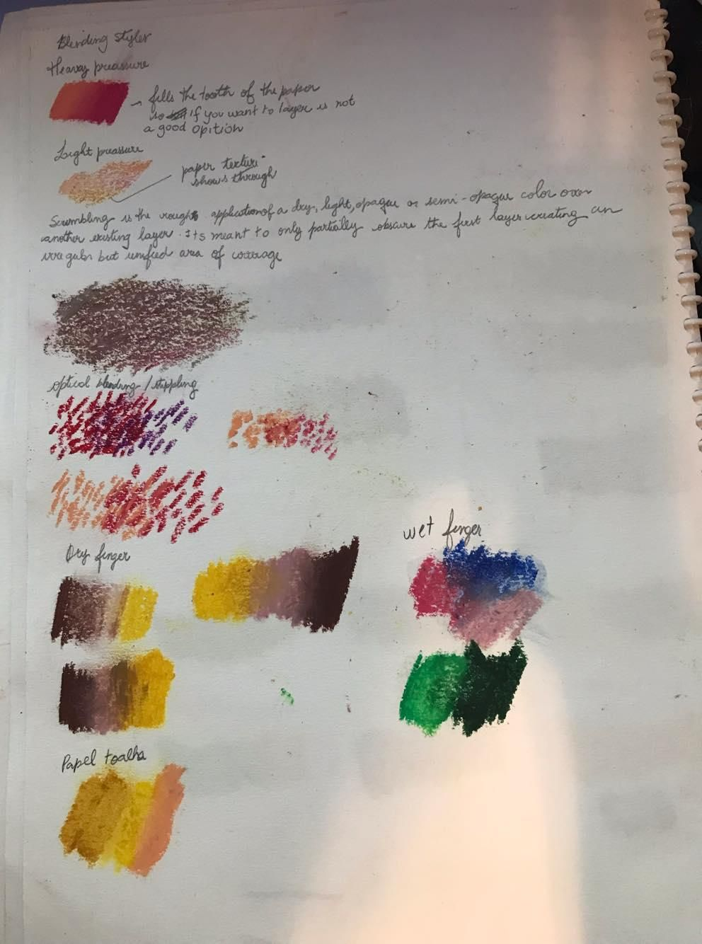 Oil Pastel Boot Camp - image 5 - student project