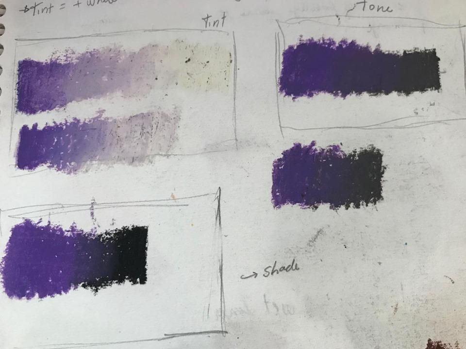 Oil Pastel Boot Camp - image 1 - student project