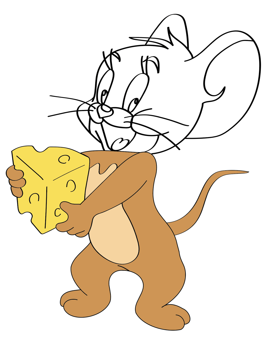 Jerry in Illustrator - image 2 - student project
