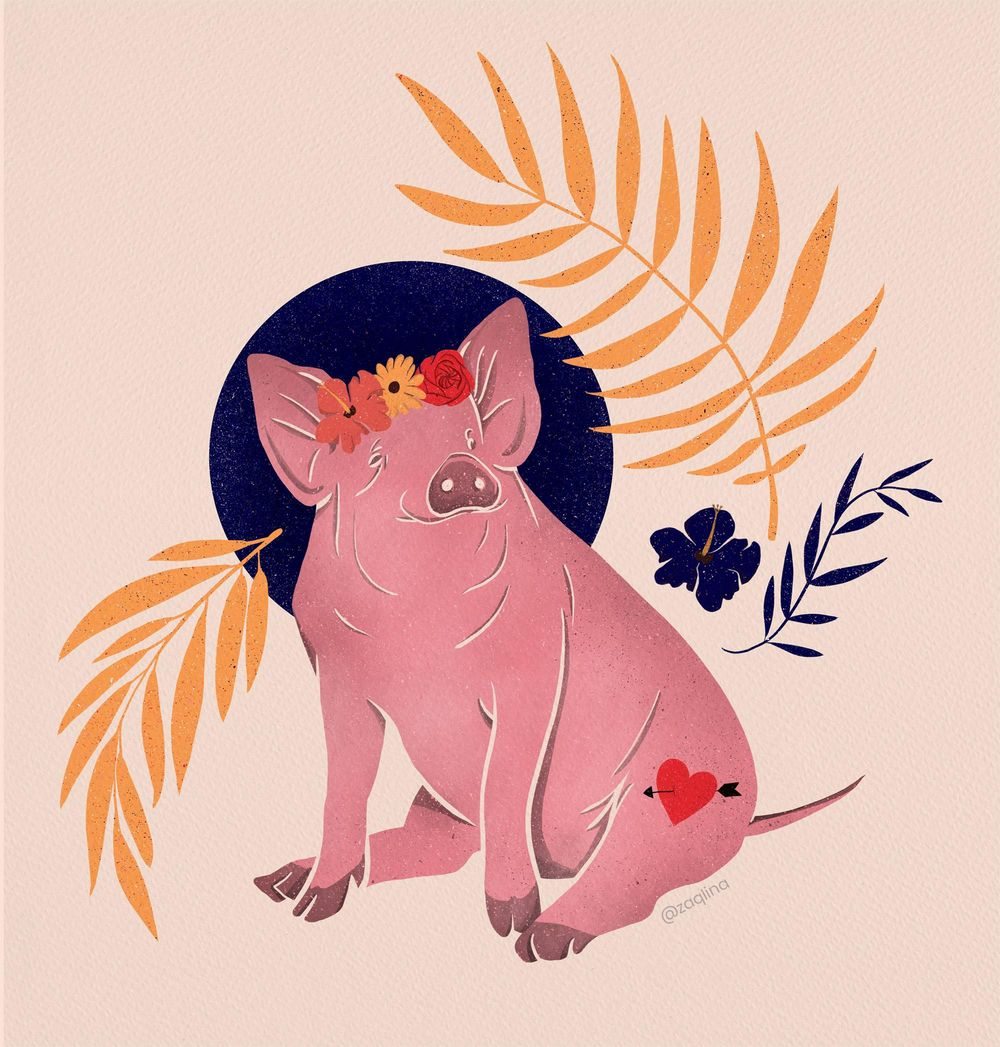 Lady Pig in the tropics - image 1 - student project