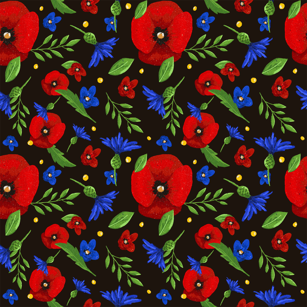 Polish Summer Flowers - image 1 - student project