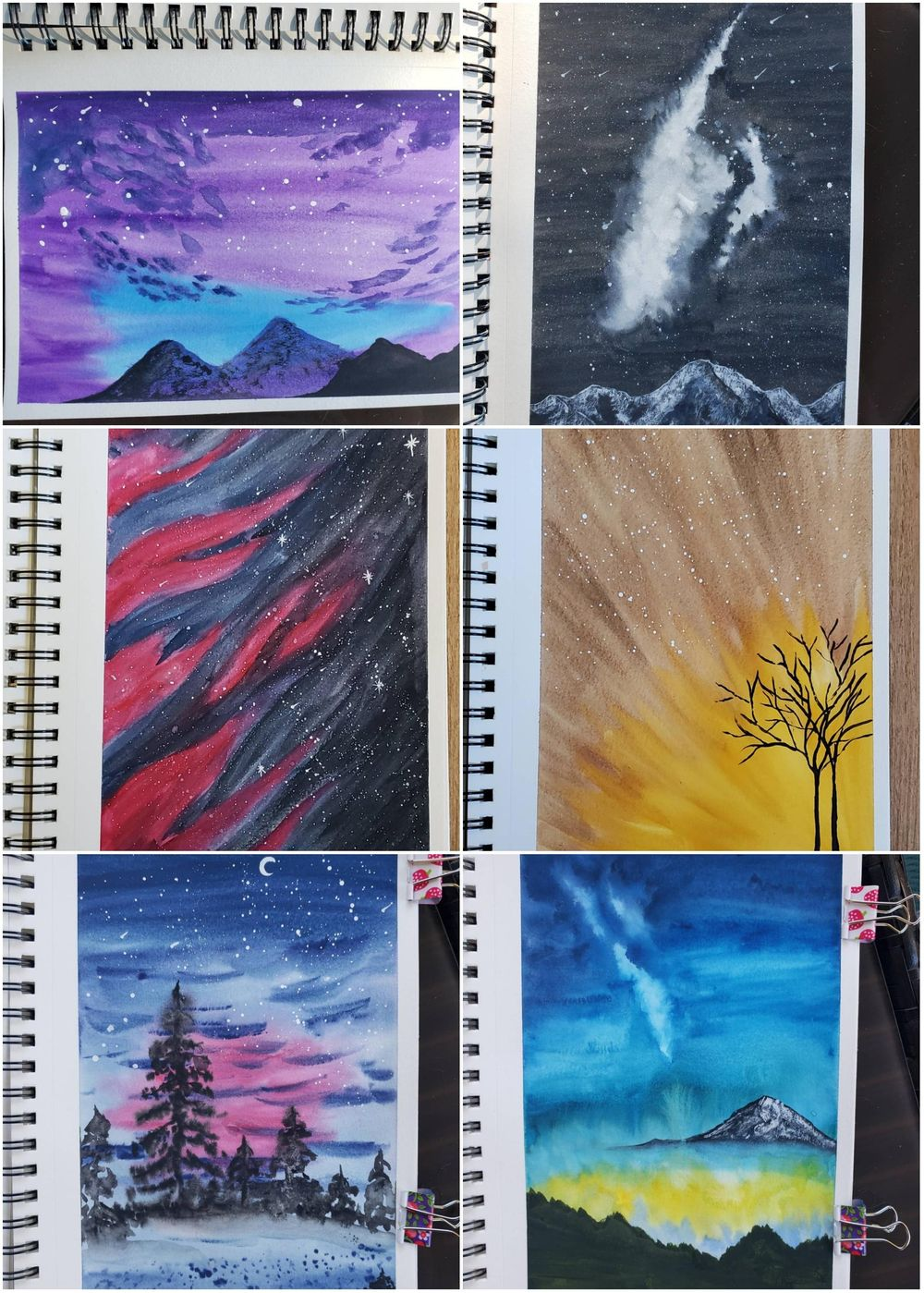 100 day watercolour challenge - image 5 - student project