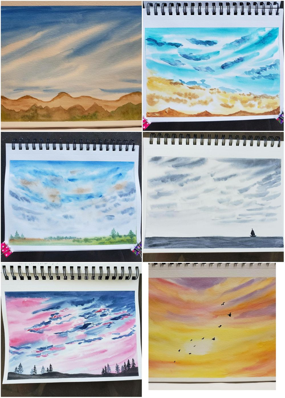 100 day watercolour challenge - image 4 - student project