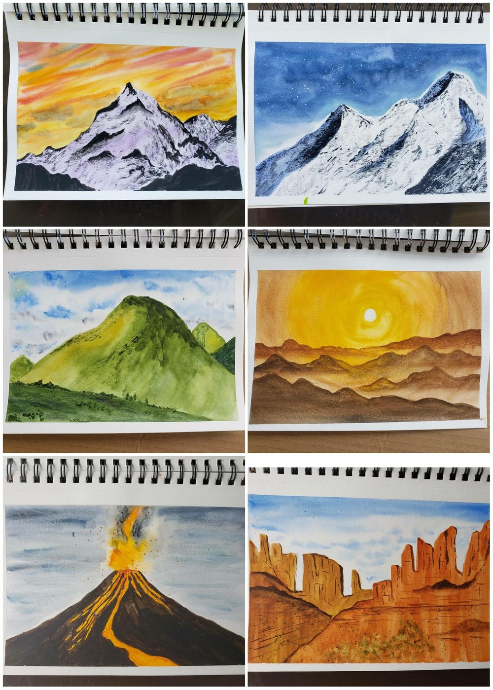 100 day watercolour challenge - image 3 - student project
