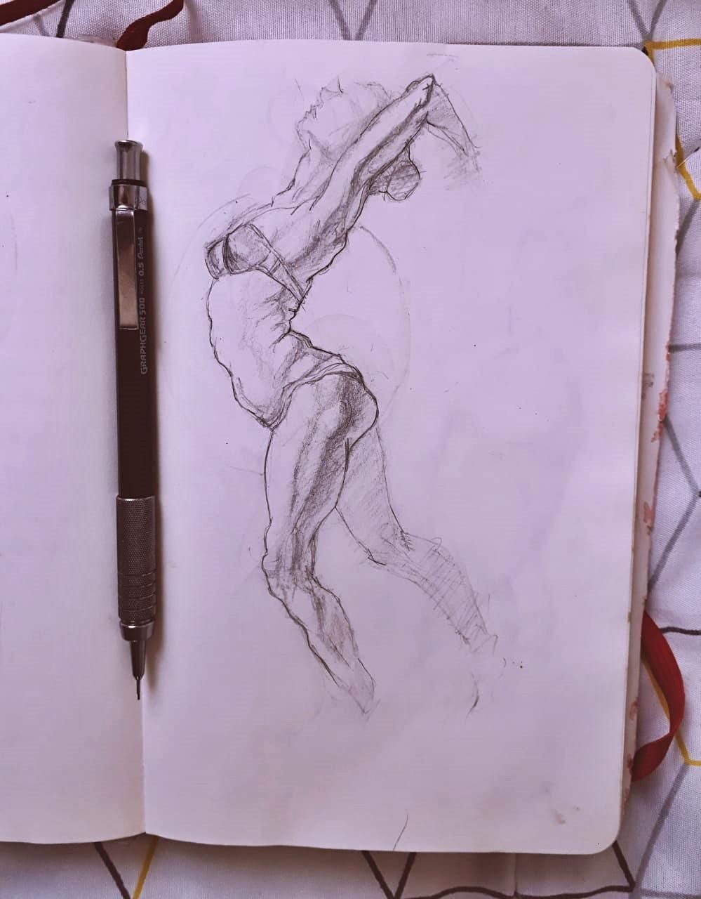 Figure drawing - Gesture - image 8 - student project