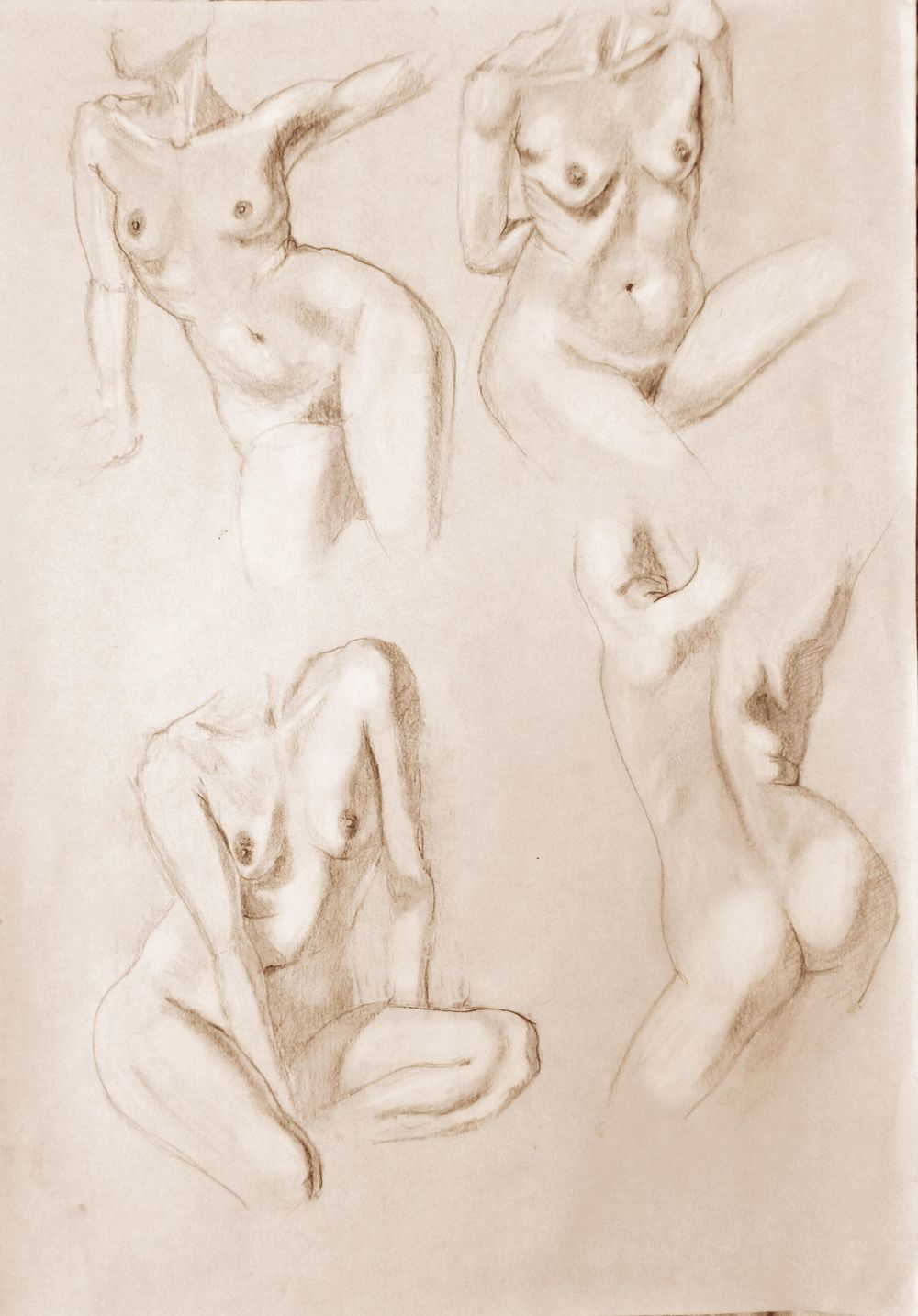 Figure drawing - Gesture - image 1 - student project
