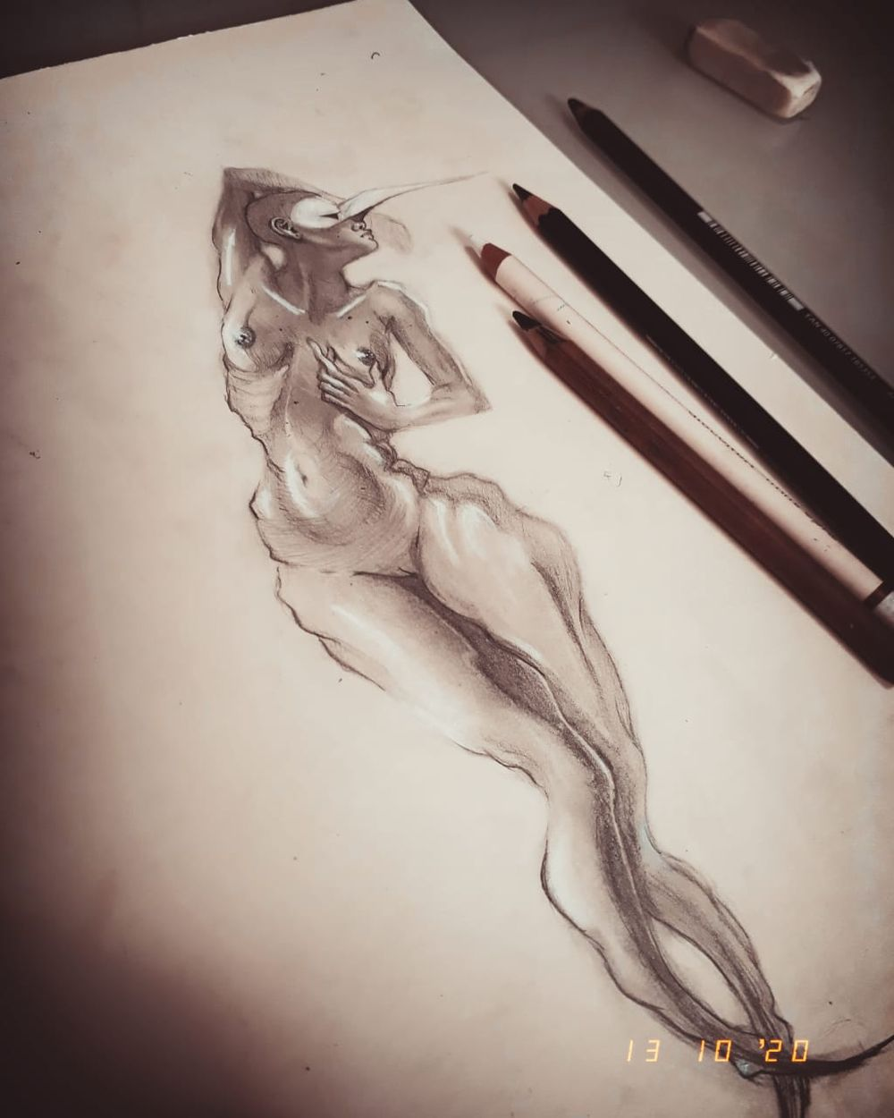 Figure drawing - Gesture - image 2 - student project