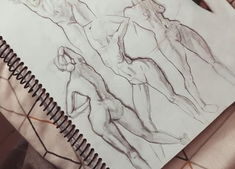 Figure drawing - Gesture - image 9 - student project