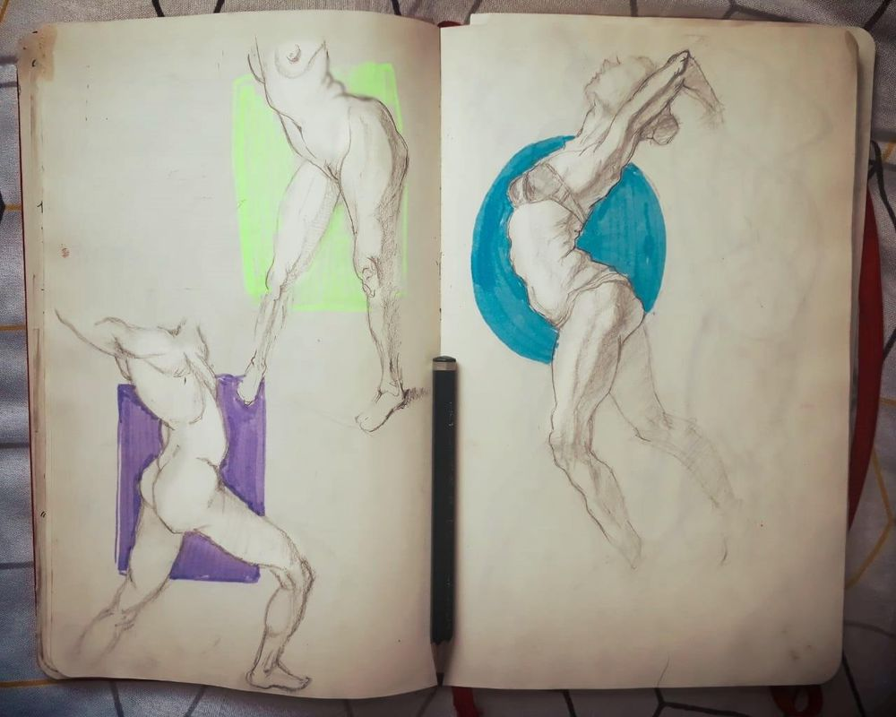 Figure drawing - Gesture - image 3 - student project