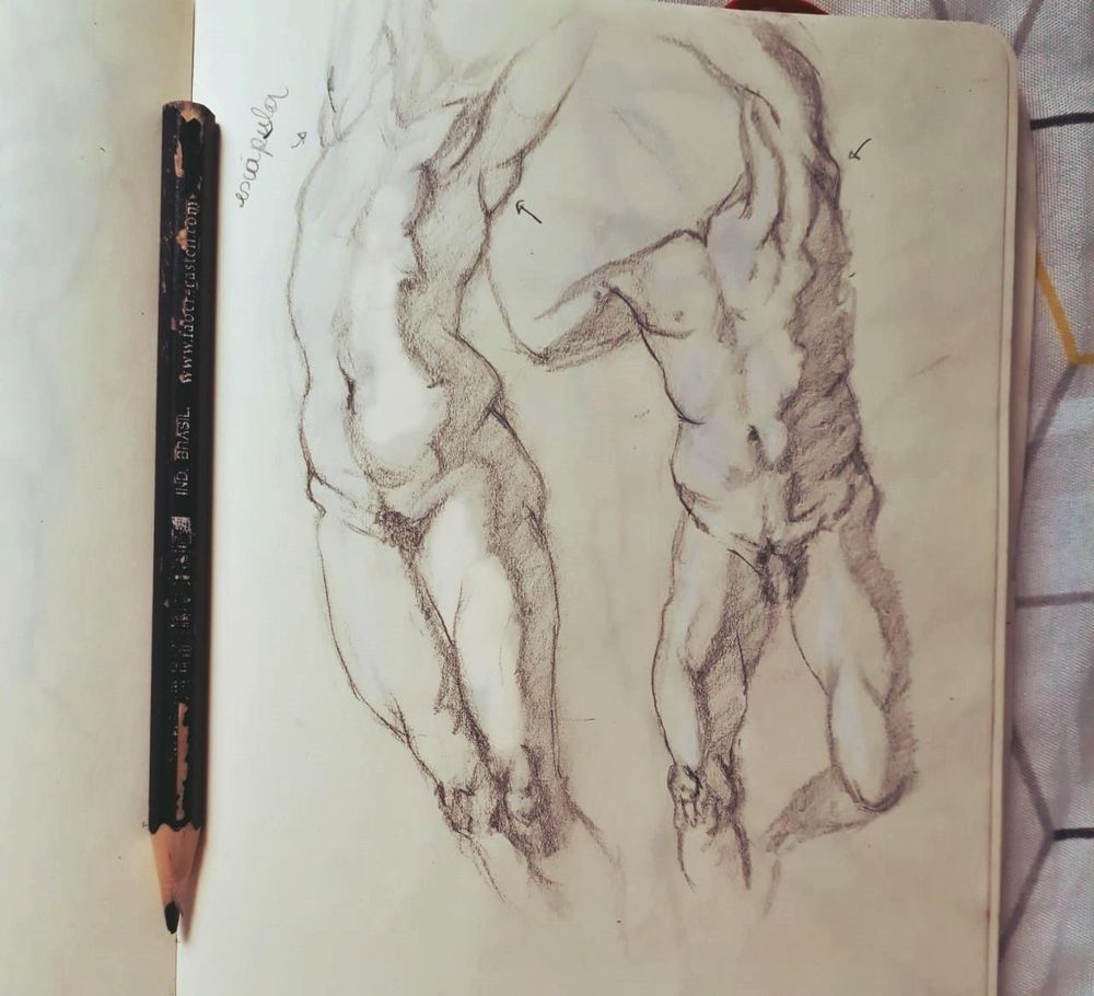 Figure drawing - Gesture - image 6 - student project