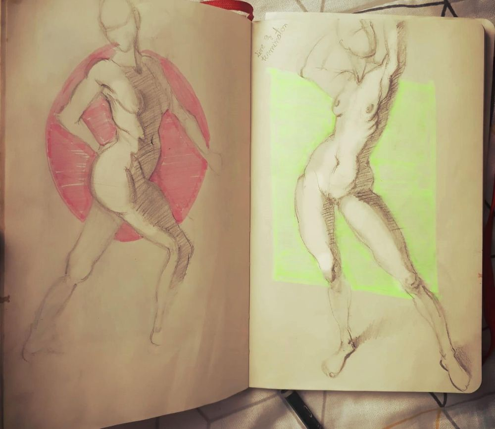 Figure drawing - Gesture - image 4 - student project