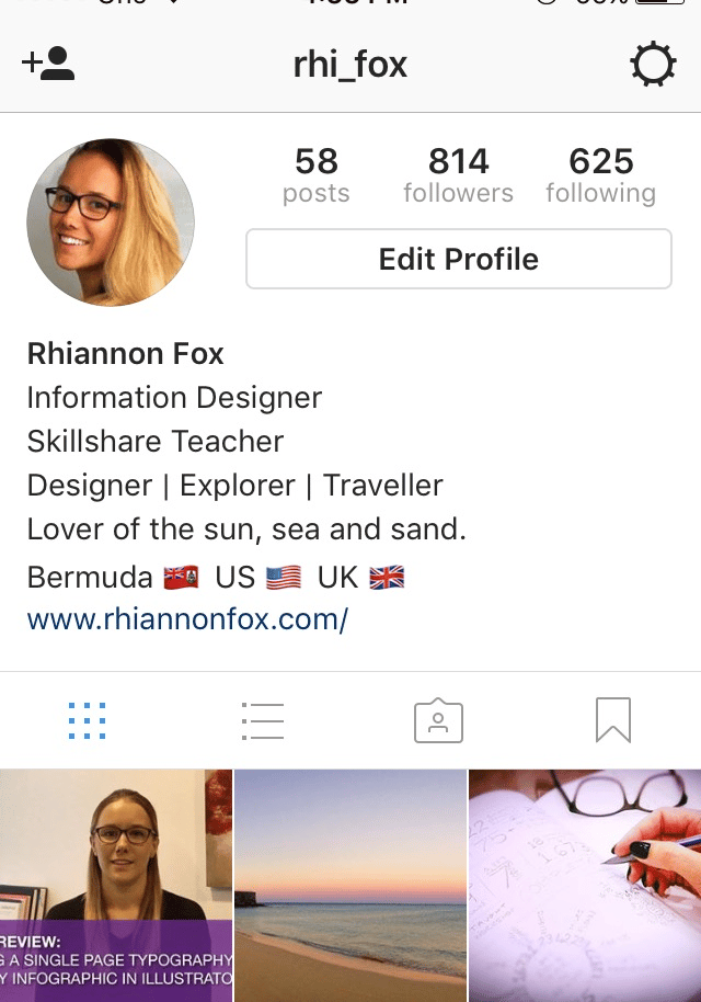 Need help promoting my work on Instagram     @rhi_fox - image 1 - student project