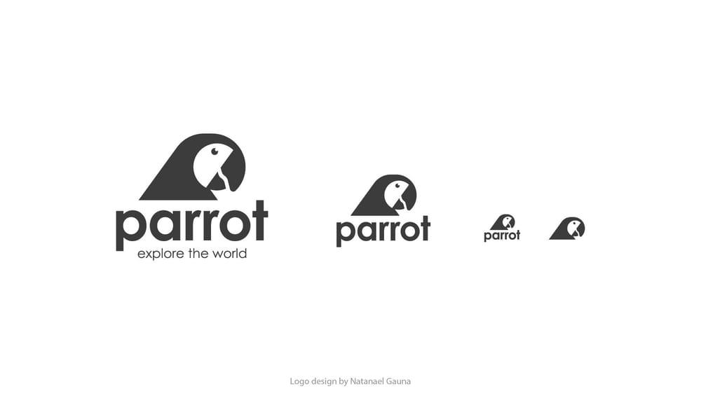 Parrot Logo Design - image 6 - student project