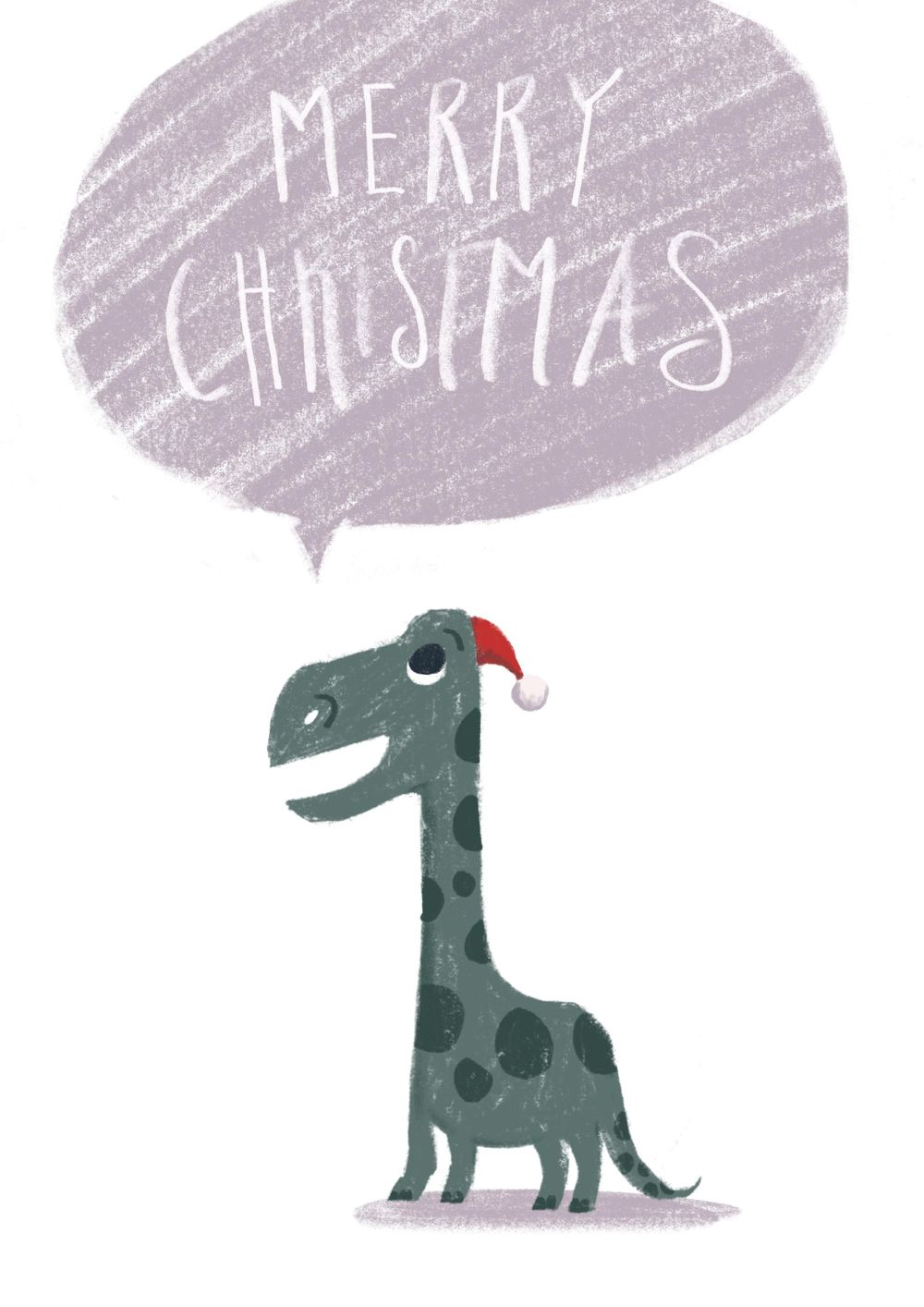 Christmas Dinosaur - image 1 - student project
