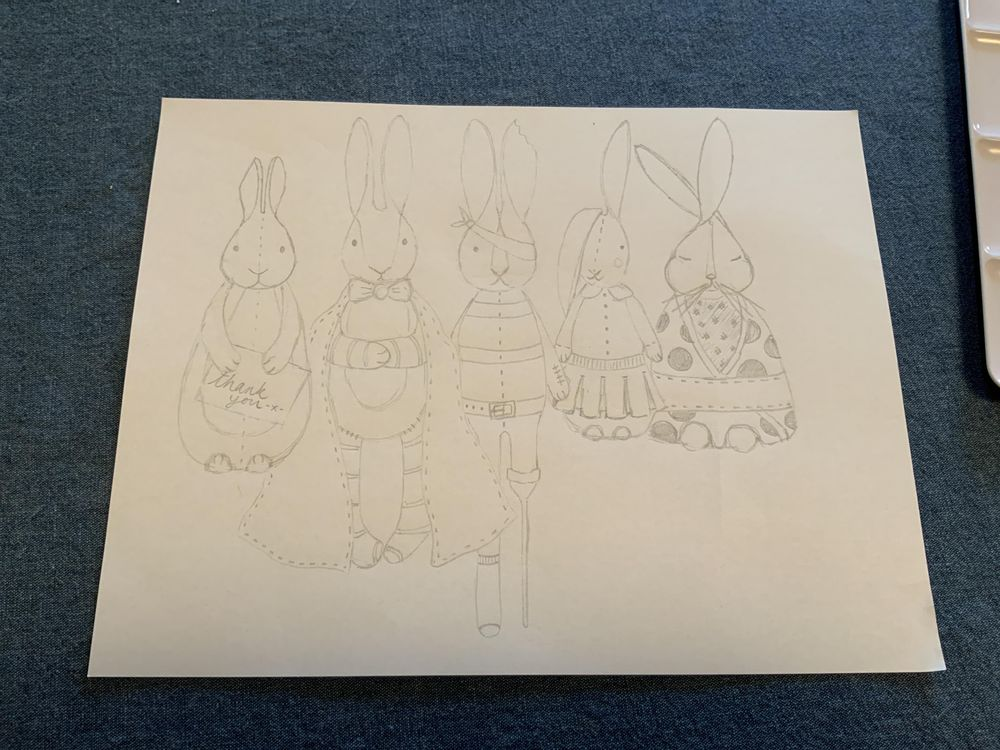 Bunnies in Books - image 1 - student project