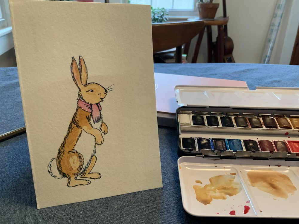 Bunnies in Books - image 2 - student project