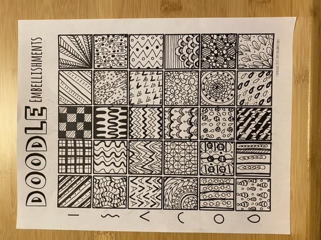 Doodling worksheets - image 2 - student project