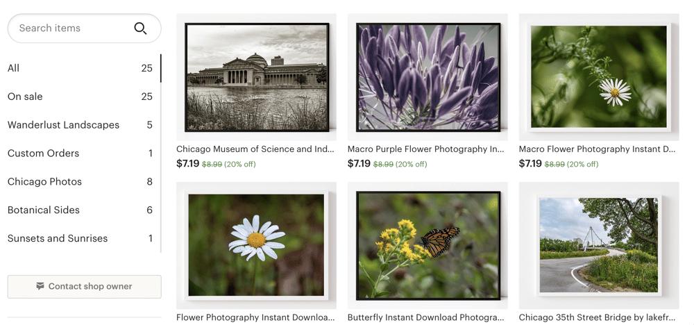 digital listings - image 1 - student project