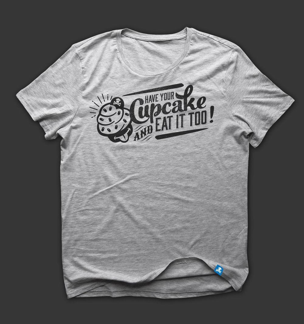 Johnny Cupcakes Tshirt - image 2 - student project