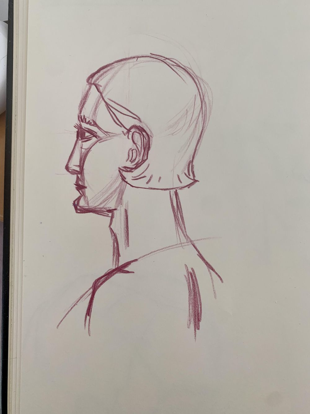 Head Drawing 1 - image 1 - student project