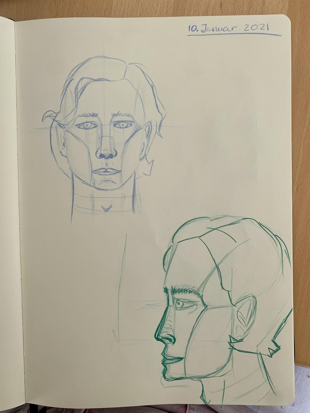 Head Drawing 1 - image 3 - student project
