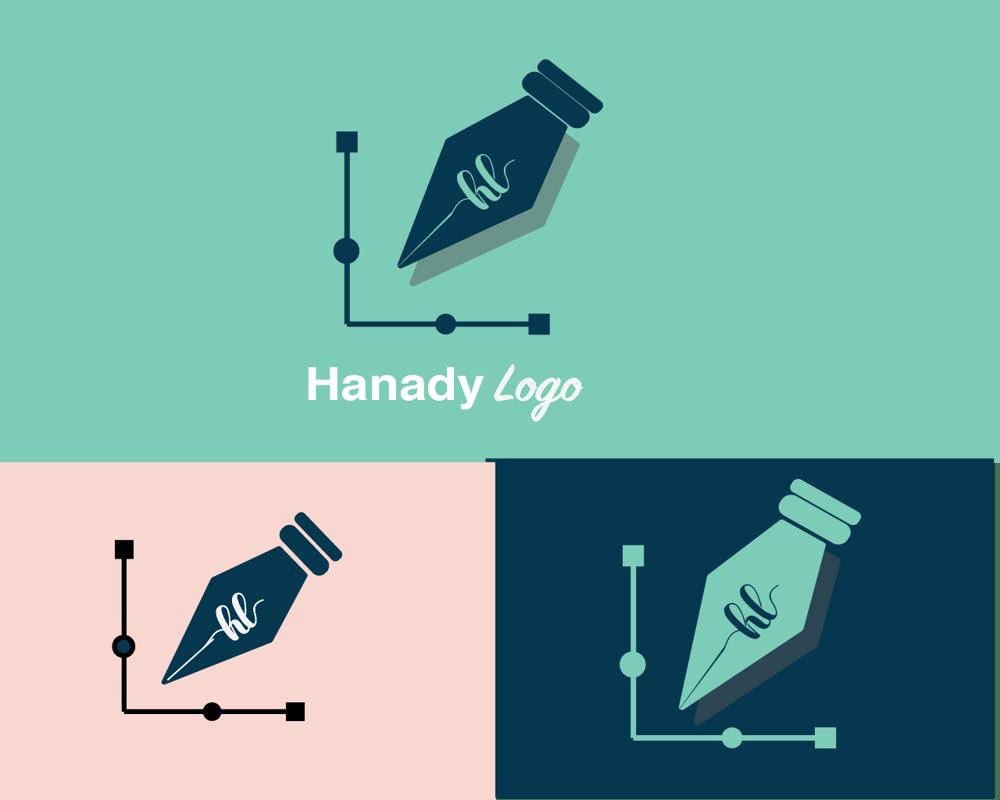 Hanady logo - image 4 - student project