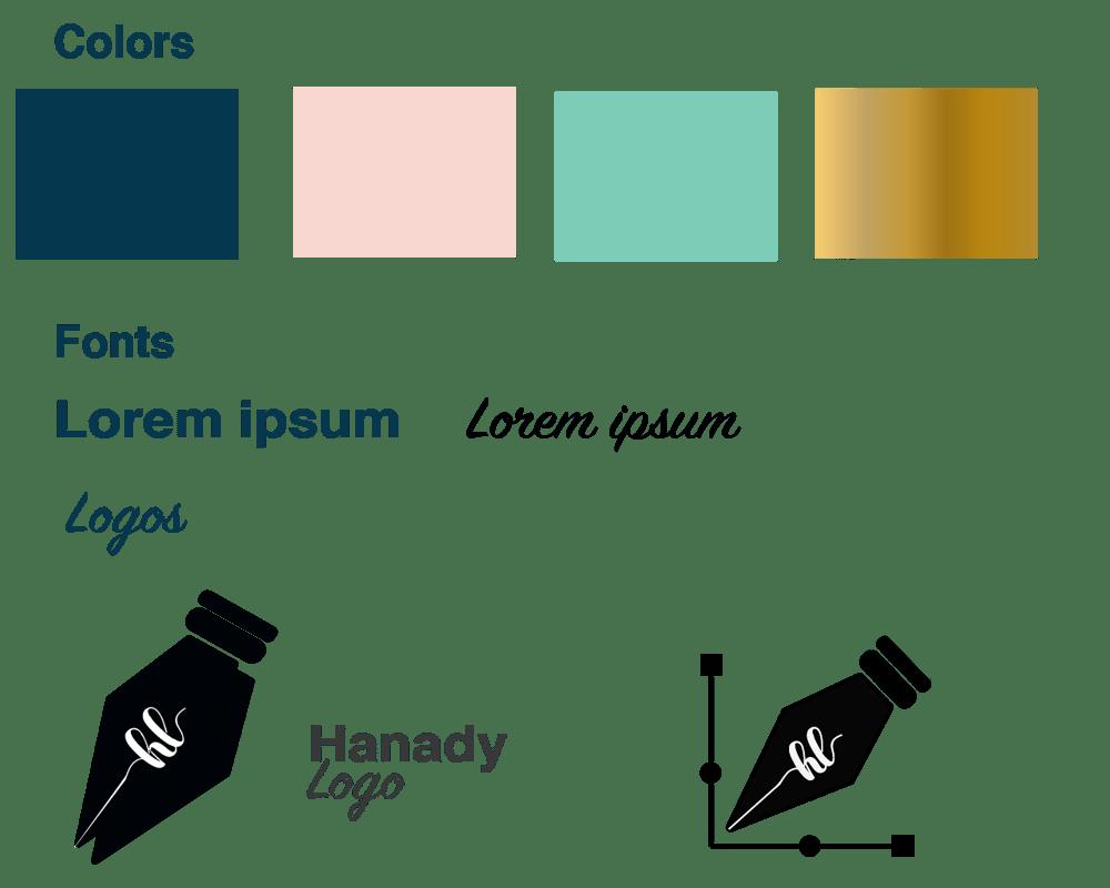 Hanady logo - image 2 - student project