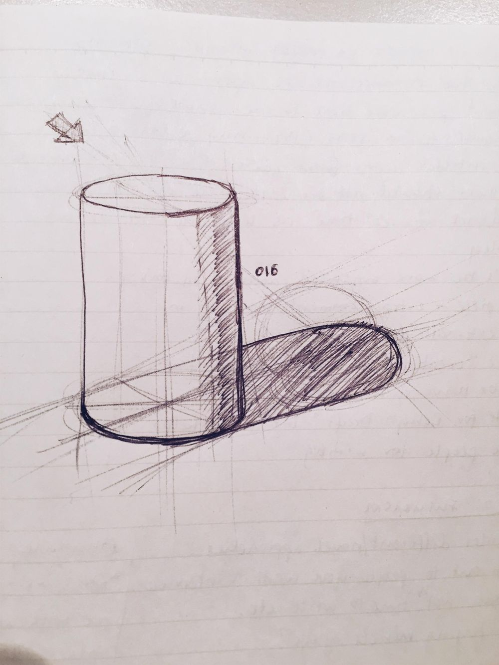 Sketching a DSLR - image 1 - student project
