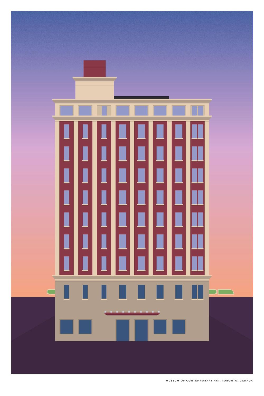 Tower Automotive Building (MOCA), Toronto - image 5 - student project