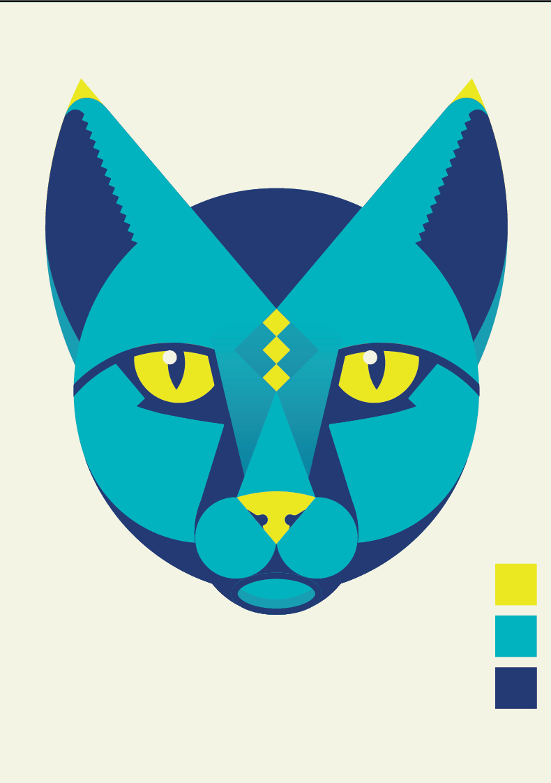 Egyptian inspired cat god - image 6 - student project
