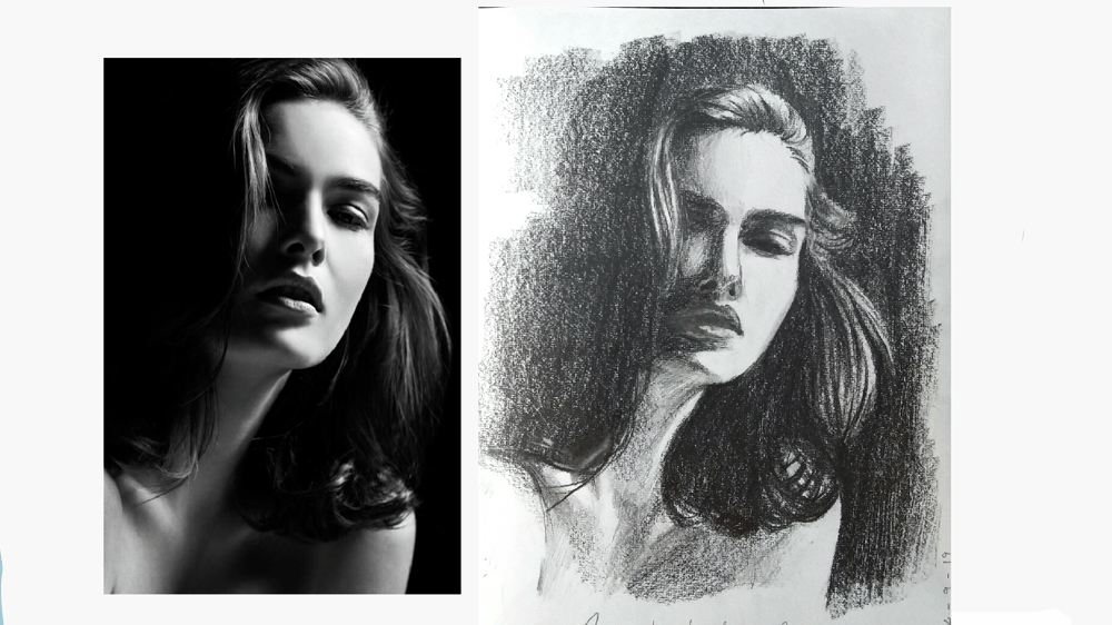 My first portrait - image 1 - student project