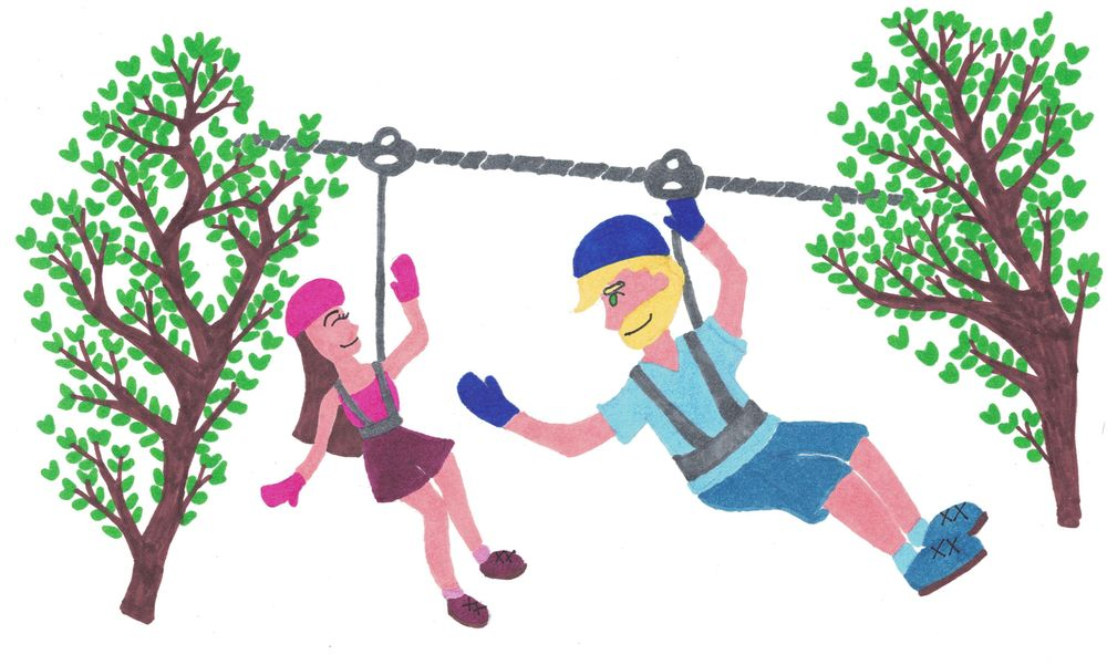 Ziplining and... - image 1 - student project