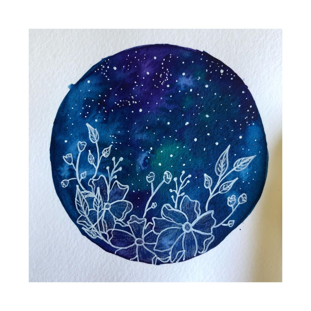 Floral Galaxies - image 1 - student project
