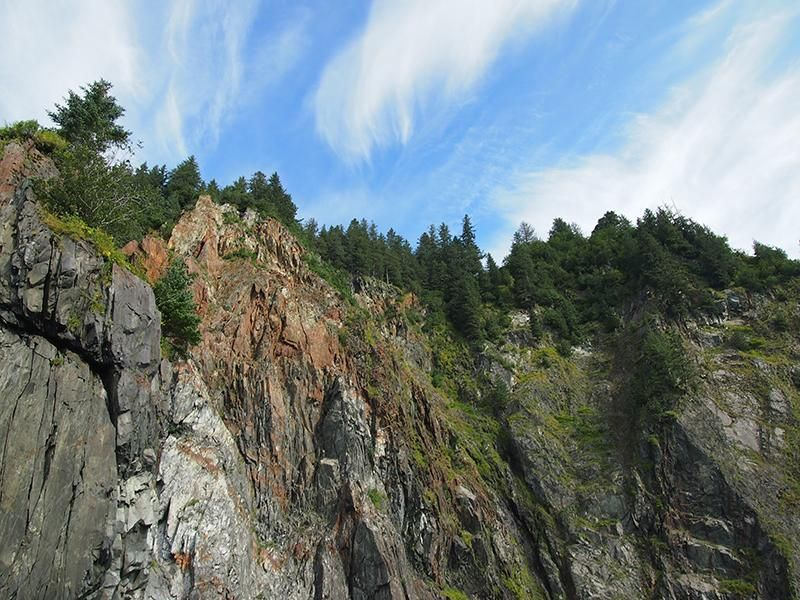 Jagged Mountain Scene - image 2 - student project