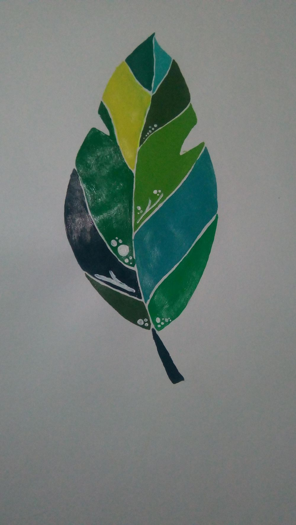 Tropical Leaf - image 3 - student project